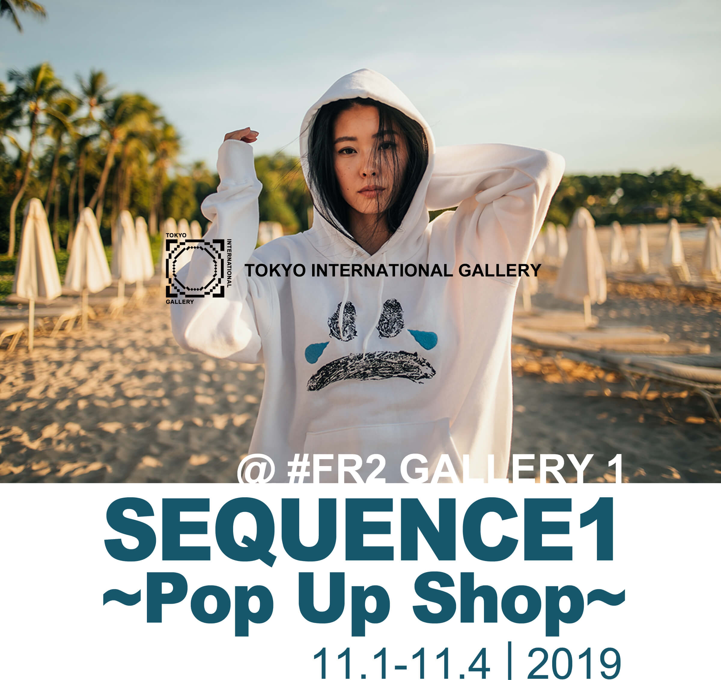 SEQUENCE1 Pop Up Shop 11.1-11.4 2019